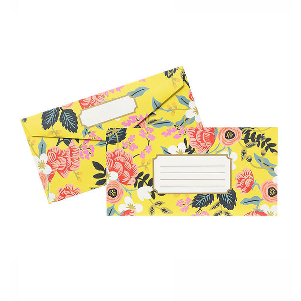 Floral Envelope Set (25 count) Rifle Paper Co. - Foursided