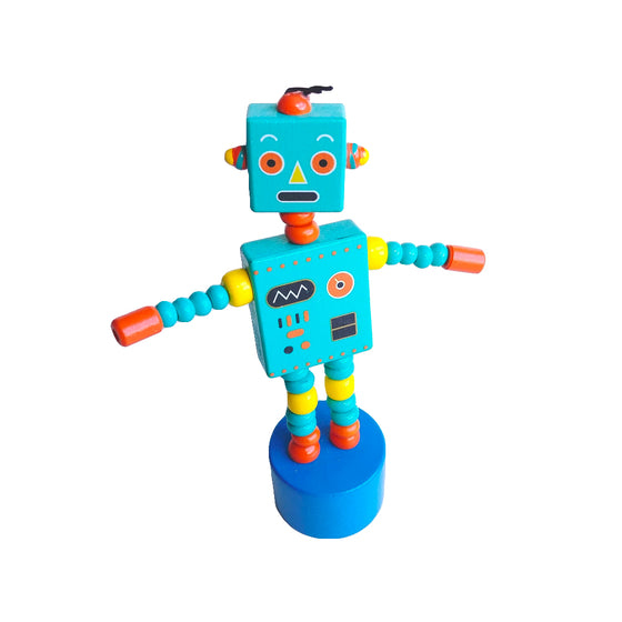 Robot Push Puppet Toy