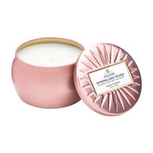 Sparkling Rose Mini Tin Candle