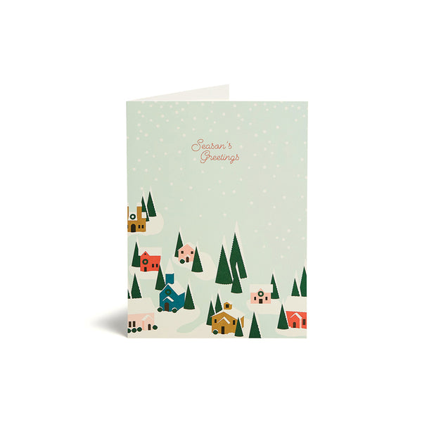 Season's Greetings Card Set (10)