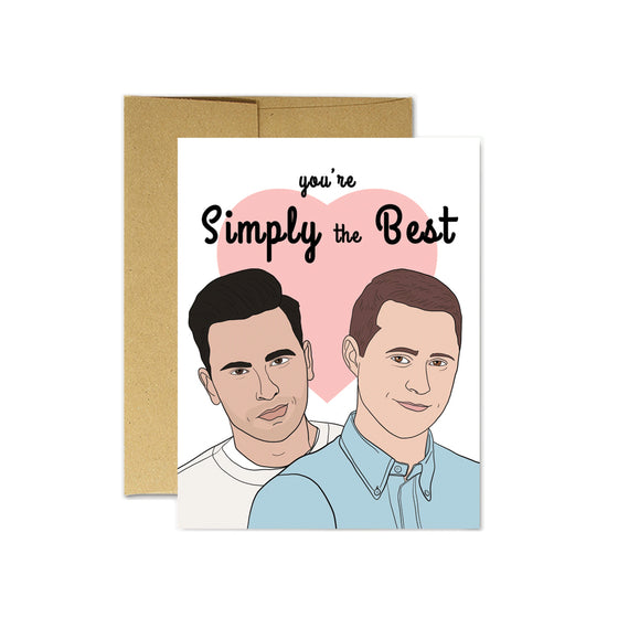 Schitt's Creek Simply the Best Card