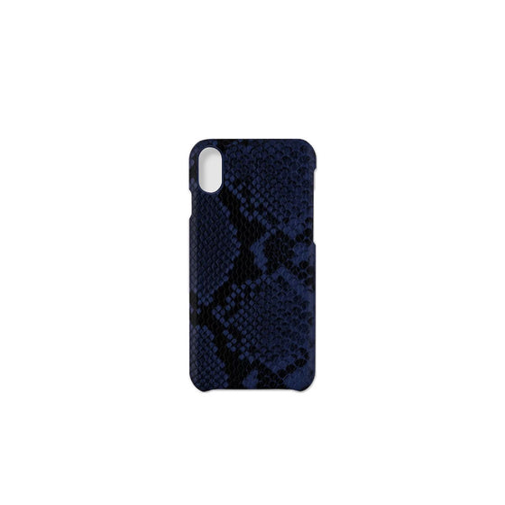 Blue Snake iPhone XS Max Case Printworks - Foursided