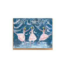 Snow Dancers Holiday Card