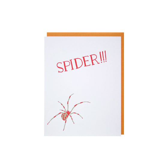 Spider!!! Father's Day Card Smudge Ink - Foursided