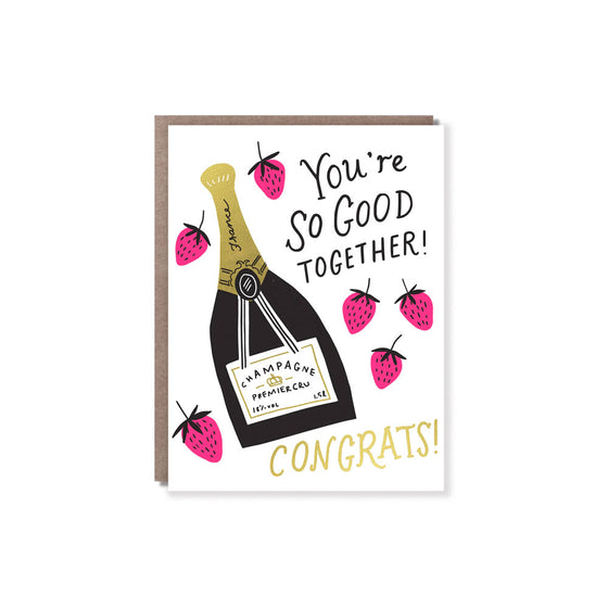 Strawberries and Champagne Card