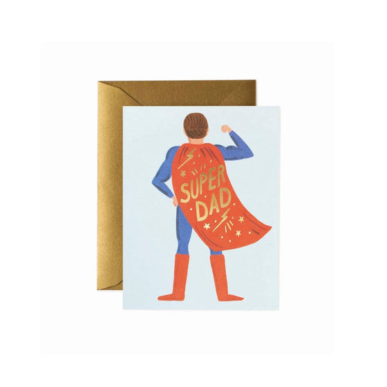 Super Dad Card Rifle Paper Co. - Foursided