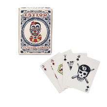 Tattoo Playing Cards Kikkerland - Foursided