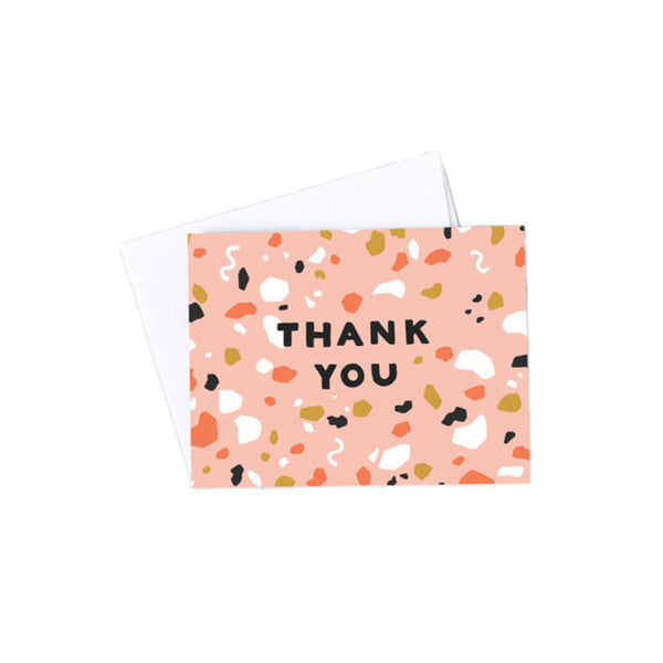 Terrazzo Thank You Boxed Cards