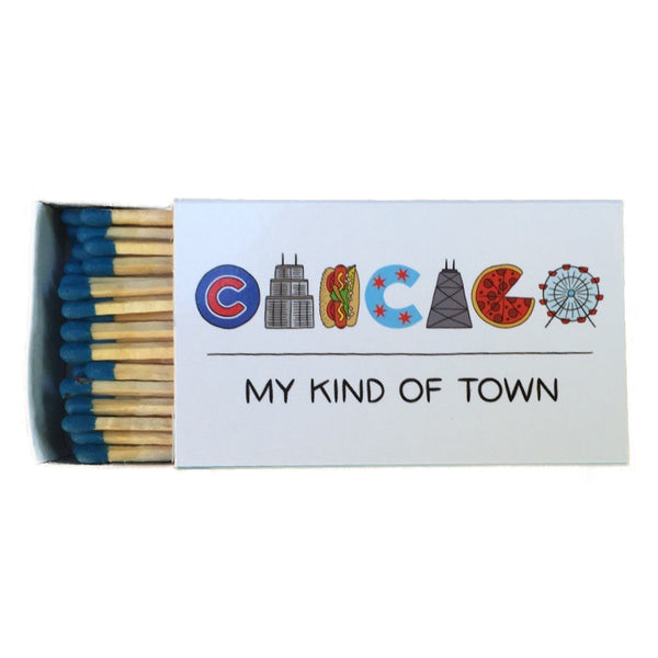 Chicago Icons Matches the Found - Foursided