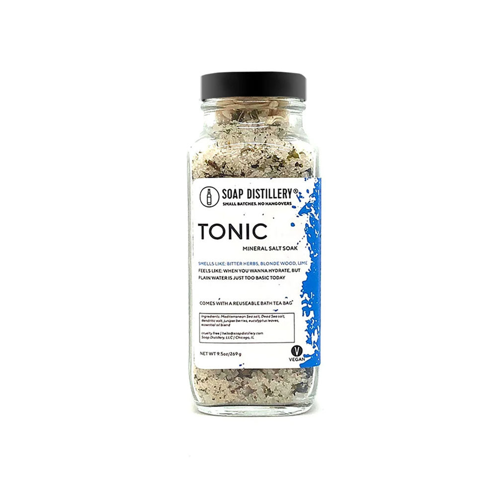 Tonic Mineral Salt Soak Soap Distillery - Foursided
