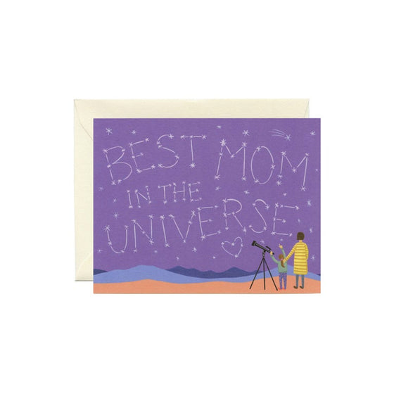 Universe Mom Card Yeppie Paper - Foursided
