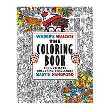 Where's Waldo? Coloring Book Chronicle - Foursided