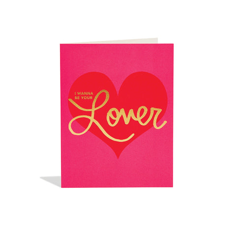 Be Your Lover Card