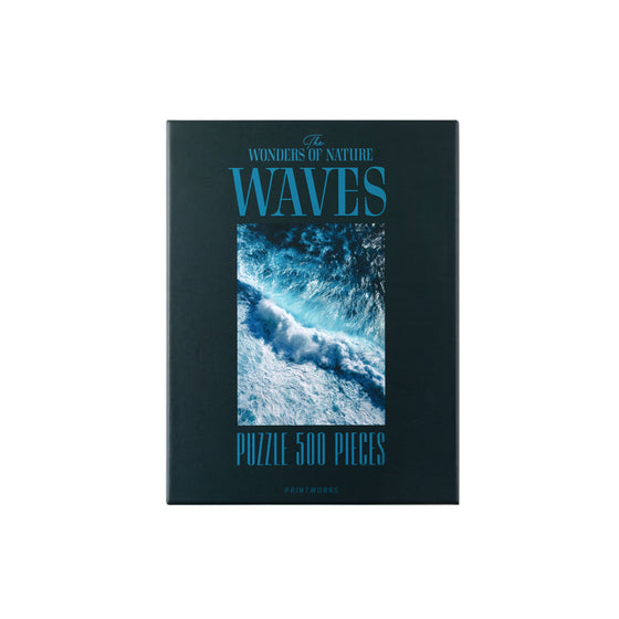 The Wonders of Nature: Waves Puzzle (500 Pieces)