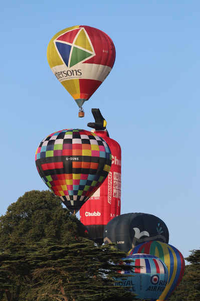 chatsworth country fair 2018 hotair