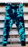 EASY GOES IT YOGA TIE DYE SOFT LEGGINGS IN MULTI-COLOR [product vendor] - Life is Chic Boutique