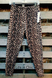 EASY GOES IT LEOPARD SOFT LEGGINGS IN MULTI-COLOR [product vendor] - Life is Chic Boutique