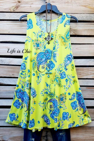 WONDERS OF COLOR PAISLEY PRINT DRESS IN MULTI-COLOR [product vendor] - Life is Chic Boutique