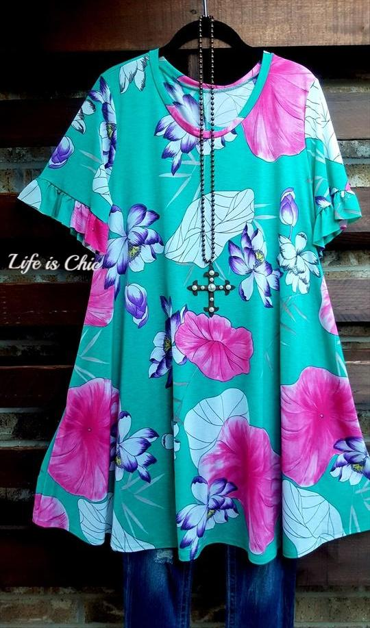 LIVING YOUR VERY BEST LIFE DRESS MULTI-COLOR [product vendor] - Life is Chic Boutique