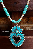 WESTERN NATURAL BEAUTY NECKLACE - TURQUOISE