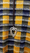 THE PERFECT PLAID SWEATER TUNIC IN GOLD YELLOW [product vendor] - Life is Chic Boutique