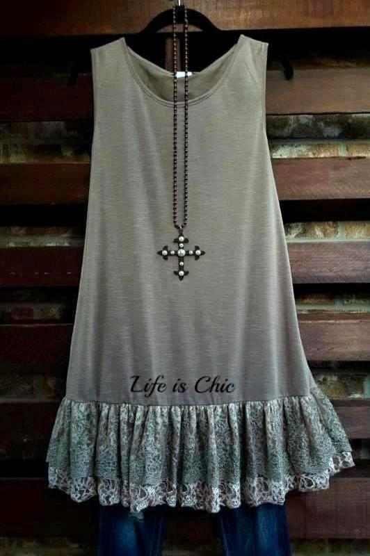 FOREVER MAGIC ROMANCE LACE SLIP DRESS SLEEVELESS IN LATTE [product vendor] - Life is Chic Boutique