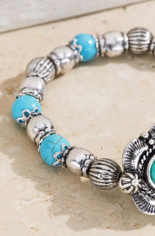 THE BLUEGRASS TURQUOISE NATURAL BRACELET