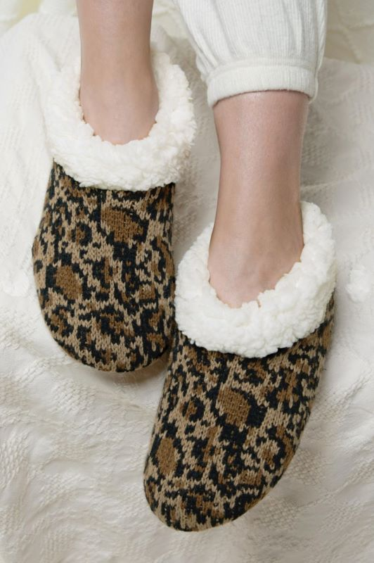 TAKE IT EASY SLIPPER ANIMAL PRINT