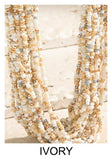 MOONLIGHT MAGIC IVORY LAYERED NECKLACE