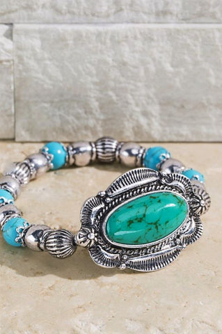 Canyon Moon Ivory Turquoise Necklace