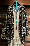 LIVING IN LOVE LEOPARD PRINT DUSTER CARDIGAN [product vendor] - Life is Chic Boutique