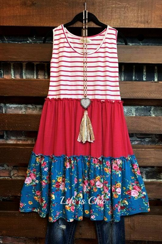 VIBRANT KIND OF LOVE DRESS