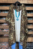 AS SHE GOES LEOPARD PRINT DUSTER KIMONO