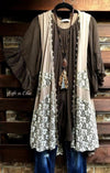 BOHO HIPPIE SWING OVERSIZED DRESS IN BROWN [product vendor] - Life is Chic Boutique