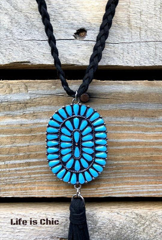 HAWAIIAN ISLANDS BEAUTY BOUND TURQUOISE NECKLACE