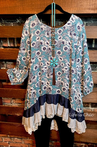 PACIFIC COAST GARDEN TUNIC IN MULTI-COLOR