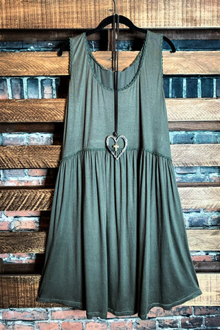 WHEREVER YOU GO MAXI DRESS IN BROWN
