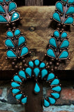 Be Fabulous NECKLACE & MATCHING EARRINGS IN TURQUOISE