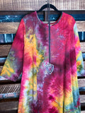 Forever Joyful Tie Dye Dress in Multi Color  2X 3X 4X 5X