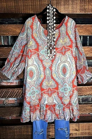 SECRETS OF THE HEART VINTAGE INSPIRED LACE VEST FLORAL FRINGE IN PEACH