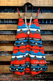 ART OF COLOR DRESS IN MULTI-COLOR - 3X - ------sale