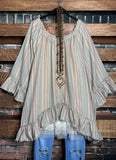 Bohemian Hippie Soul Oversized Tunic in Multi-Color