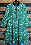 CAMOUFLAGE PRINT DRESS IN GREEN CAMO 6 -16---------sale