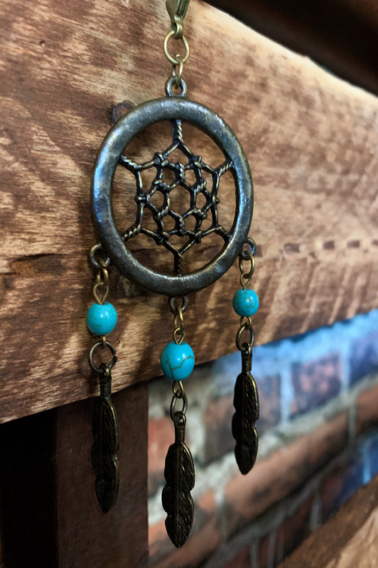 BOHO SOUL DREAMCATCHER NECKLACE