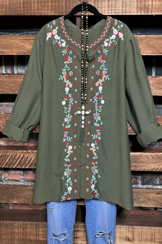 tunic plus size boho