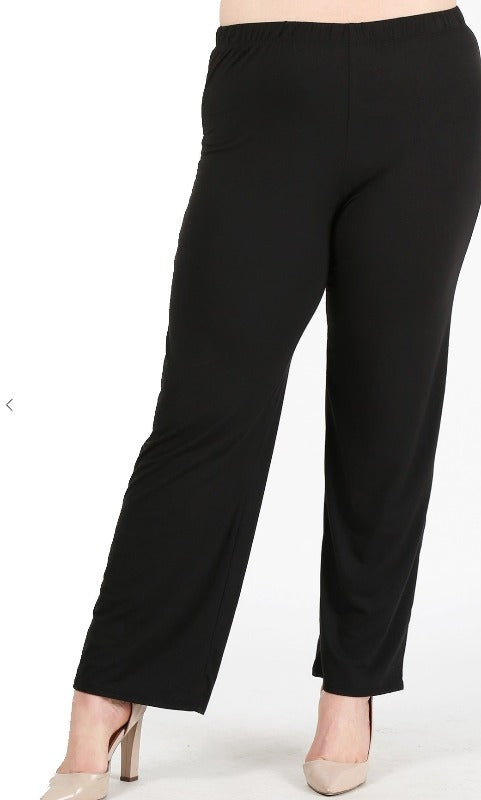 Lounge Pants Sweatpants High-Waisted Lightweight in black