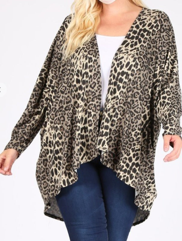FIRESIDE SOFT HACCI OVERSIZED CARDIGAN 3X 4X 5X-------------sale
