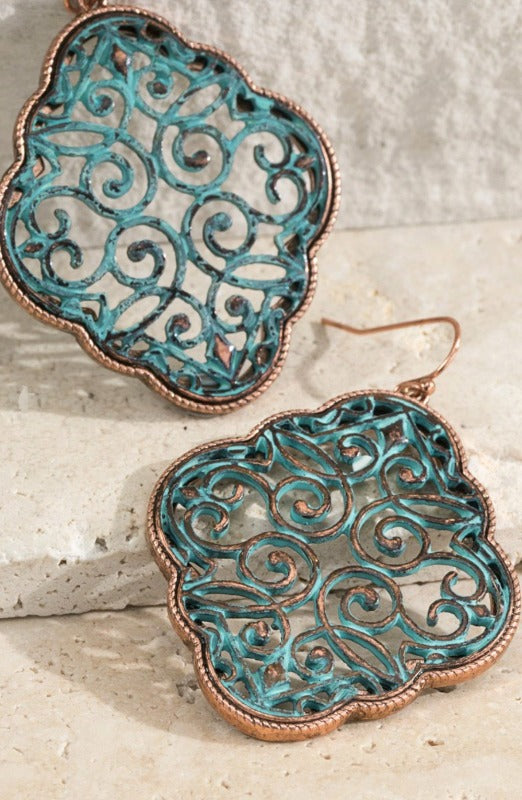 Romantic Victorian Inspired Earrings