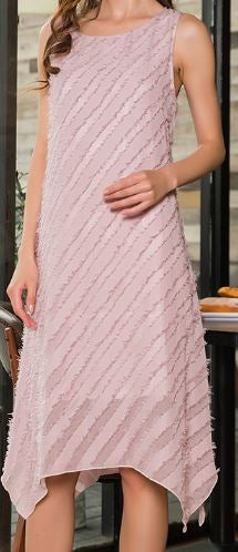 MADEMOISELLE BELLE MIDI DRESS IN MAUVE -    sale
