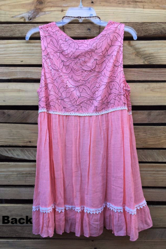 LOVELY DAY LACE PINK BABYDOLL [product vendor] - Life is Chic Boutique